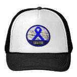 Colon Cancer Survivor Mens Vintage Cap