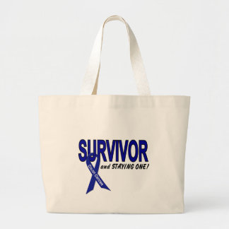 Colon Cancer Survivor & STAYING One Canvas Bag