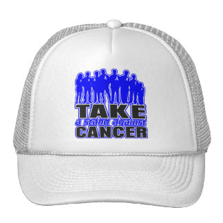 Colon Cancer -Take A Stand Against Cancer Trucker Hat