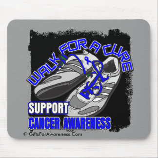 Colon Cancer Walk For A Cure Shoes Mouse Pad