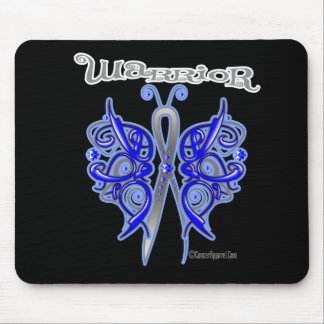 Colon Cancer Warrior Celtic Butterfly Mouse Pad
