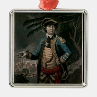 Colonel Benedict Arnold, pub. London, 1776 Christmas Ornament