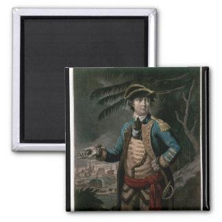 Colonel Benedict Arnold, pub. London, 1776 Square Magnet