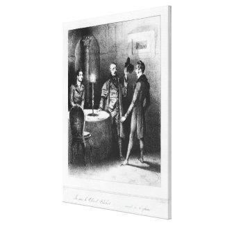 Colonel Chabert, illustration 'Le Colonel Canvas Prints