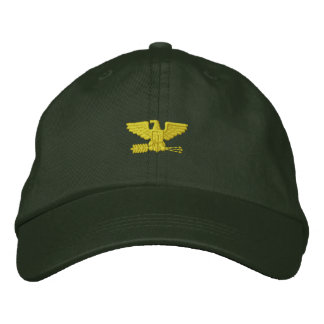 Colonel Embroidered Cap