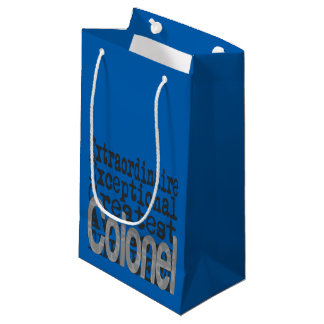 Colonel Extraordinaire Small Gift Bag