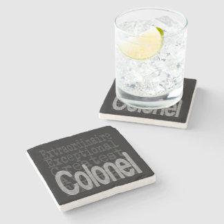Colonel Extraordinaire Stone Coaster