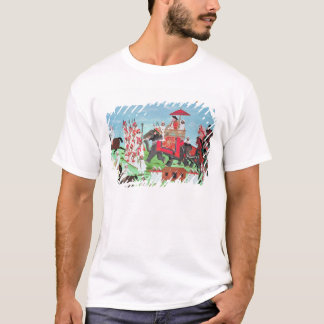 Colonel James Todd travelling by elephant T-Shirt