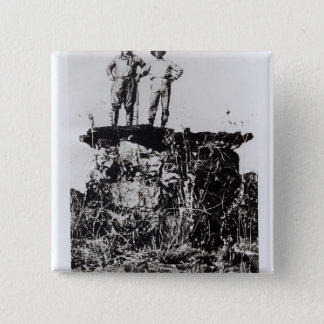 Colonel Roosevelt and Colonel Rondon at Navaite 15 Cm Square Badge