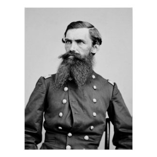Colonel Strother, 3rd WV Cavalry, 1860s Poster