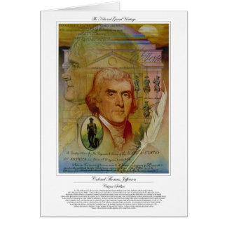 Colonel Thomas Jefferson Citizen Soldier Cards