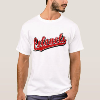 Colonels in Red T-Shirt