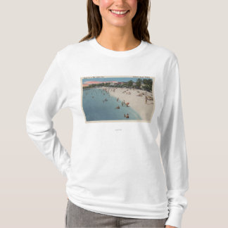 Colonial Beach, VA - Sunbathing & Swimming Scene T-Shirt
