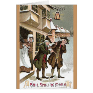 Colonial Christmas in Olde Towne Greeting Card
