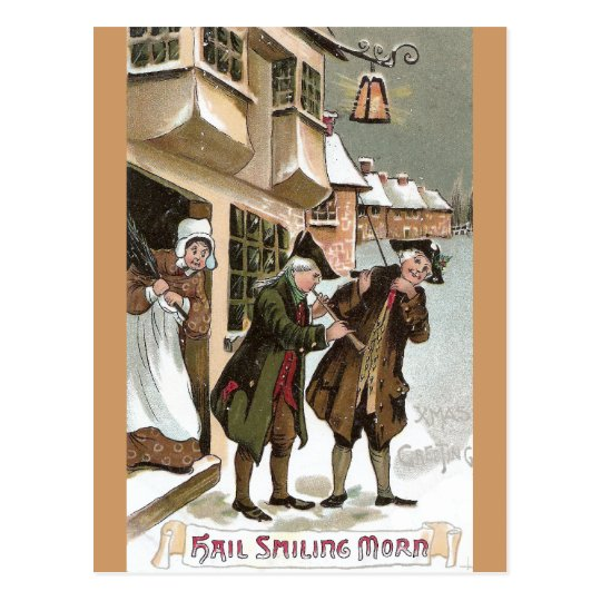 Colonial Christmas in Olde Towne Postcard