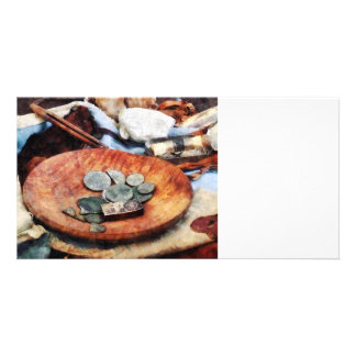 Colonial Coins Photo Card Template