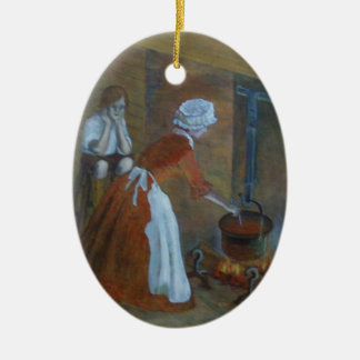 Colonial Cook Ornament