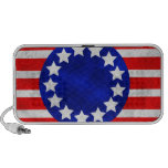 Colonial Stars and Stripes Doodle Speaker