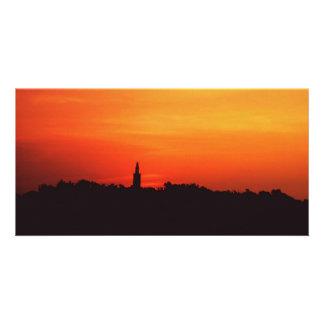 Colonial Sunrise Photo Card Template