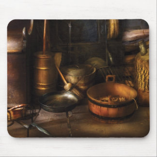 Colonial Utensils Mouse Pad