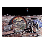Colonisation of the Moon Poster