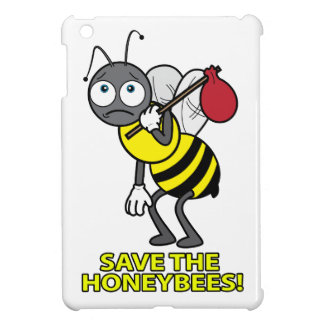 Colony Collapse Disorder: Save the Honeybees! iPad Mini Cases
