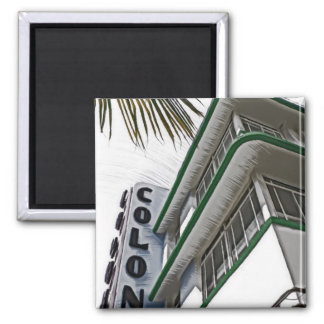 Colony Hotel Miami Refrigerator Magnets