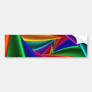 Color 25 bumper sticker