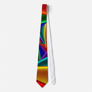 Color 25 Fine Fractal Art Tie