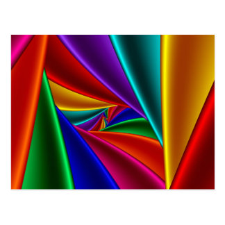 Color 25 postcard