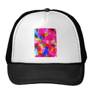 color abstract (13) cap