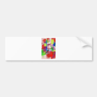 color abstract (17) bumper sticker