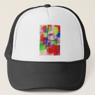 color abstract (17) trucker hat