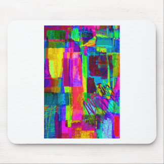 color abstract (1) mouse pad