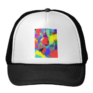 color abstract (28) cap