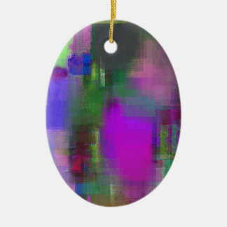 color abstract (5) christmas ornament