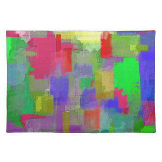 color abstract (6) placemat