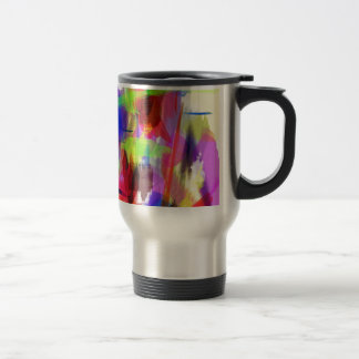color abstract (8) travel mug