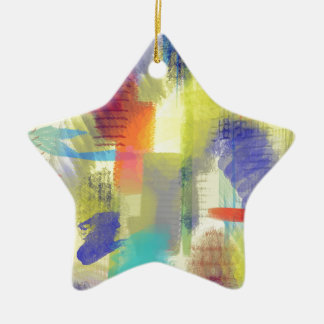 color abstract (9).jpg ceramic star decoration