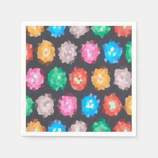 Color Abstract Background Disposable Napkins