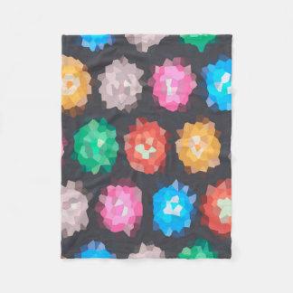 Color Abstract Background Fleece Blanket