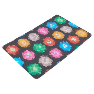 Color Abstract Background Floor Mat