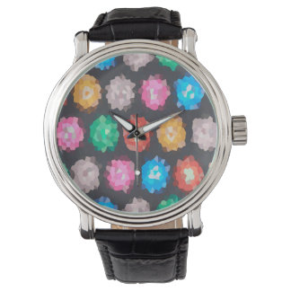 Color Abstract Background Watch