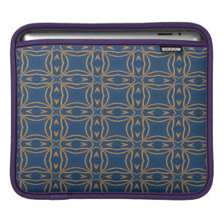 Color Abstract Pattern Blue Wallpaper Design iPad Sleeve
