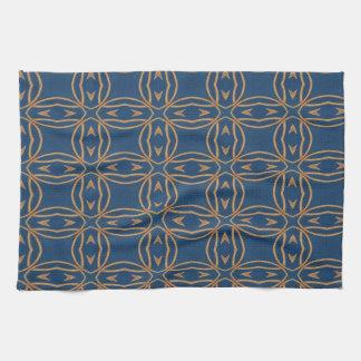 Color Abstract Pattern Blue Wallpaper Design Tea Towels