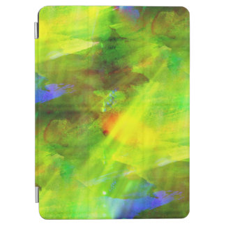color abstract seamless background green, yellow iPad air cover