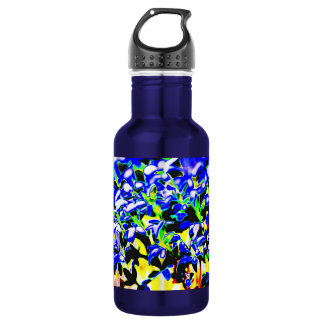 Color abstraction 532 ml water bottle