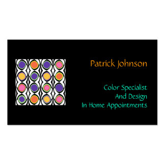 Color and Design Specialist Professional Custom Pack Of Standard Business Cards