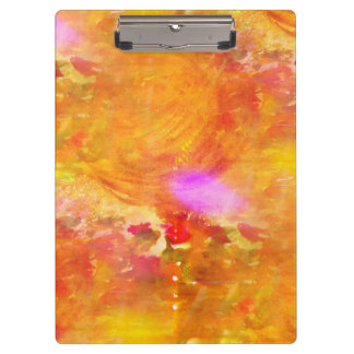 color art seamless background yellow, orange clipboard