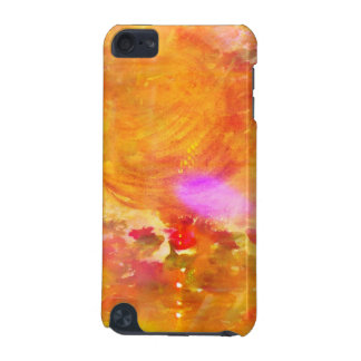 color art seamless background yellow, orange iPod touch (5th generation) cases